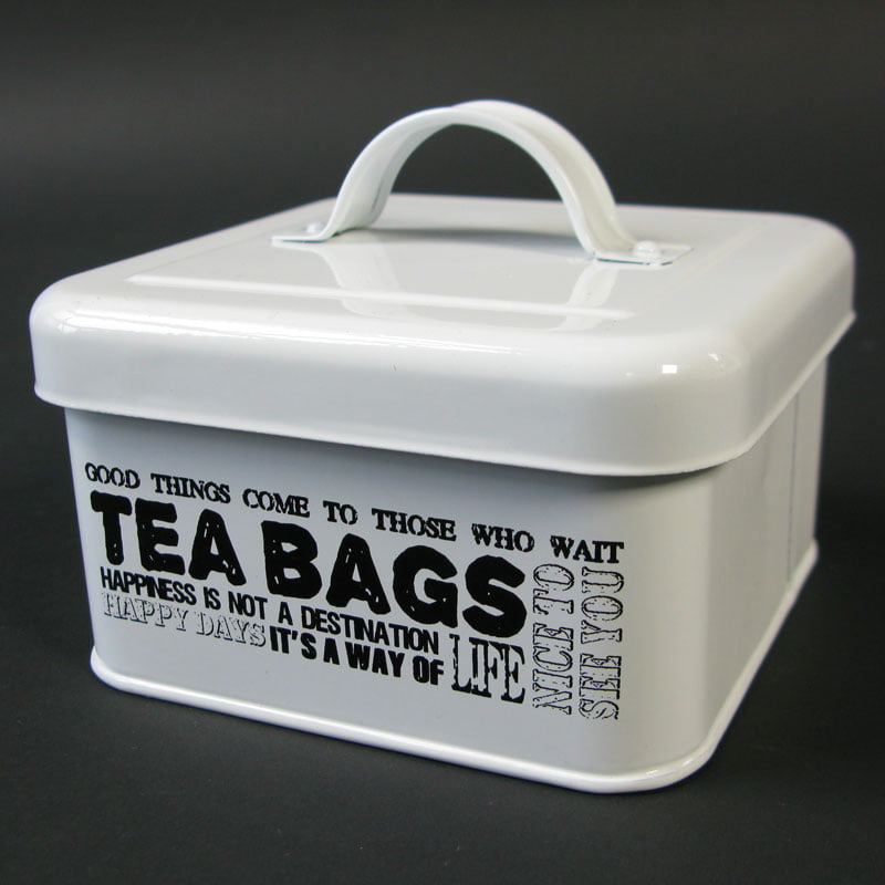 Plåtburk för tepåsar