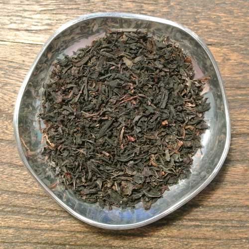 Champagne och grädde - svart te