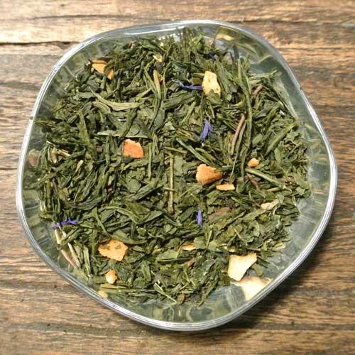 Citron och yoghurt - grönt te