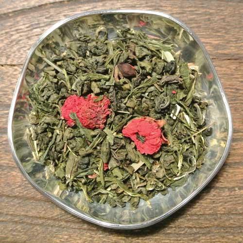 Ingefära, lime och honung - grönt te