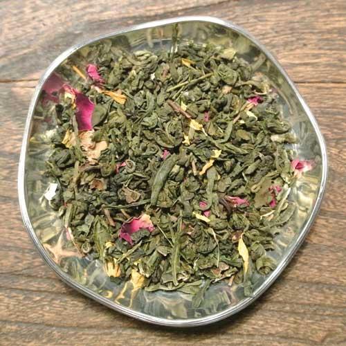 Körsbär och lime - grönt te