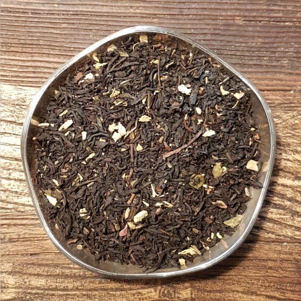 Rabarber och grädde - svart te