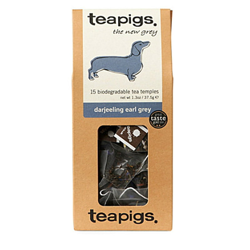 Teapigs, Darjeeling earl grey - the new grey (svart te)