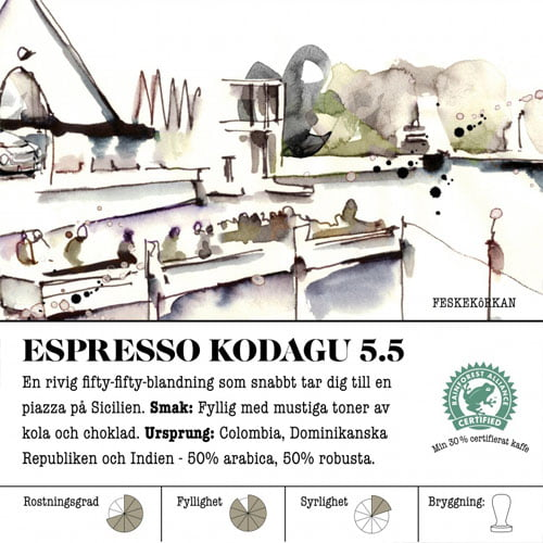Espresso Kodagu 5.5 - kaffe