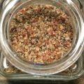 Pepparmix är som namnet antyder en mix som innehåller mycket peppar. Passar till stekt och grillad mat och i såser och grytor.