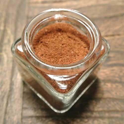 Java rub kryddmix.Kaffepulver är hemligheten i denna kryddmix som väcker liv i smakerna hos både kött, fågel, skaldjur och grönsaker.