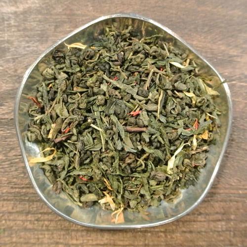 Äggtoddy - grönt te