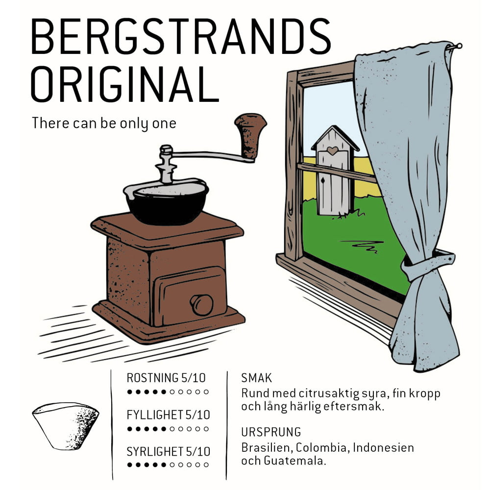 Bergstrands Original - kaffe