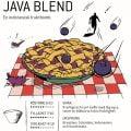 Java Blend lagras under två monsuner vilket resulterar i ett kraftigt och runt kaffe med låg syra, toner av blåbär och dov fruktighet.