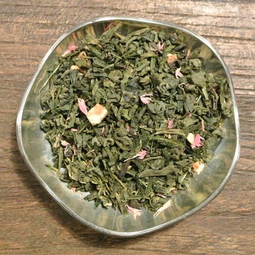 Apelsin och grape - grönt te