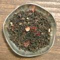 Våreld är ett svart te med syrliga smaker från blåbär, citrus och rabarber.