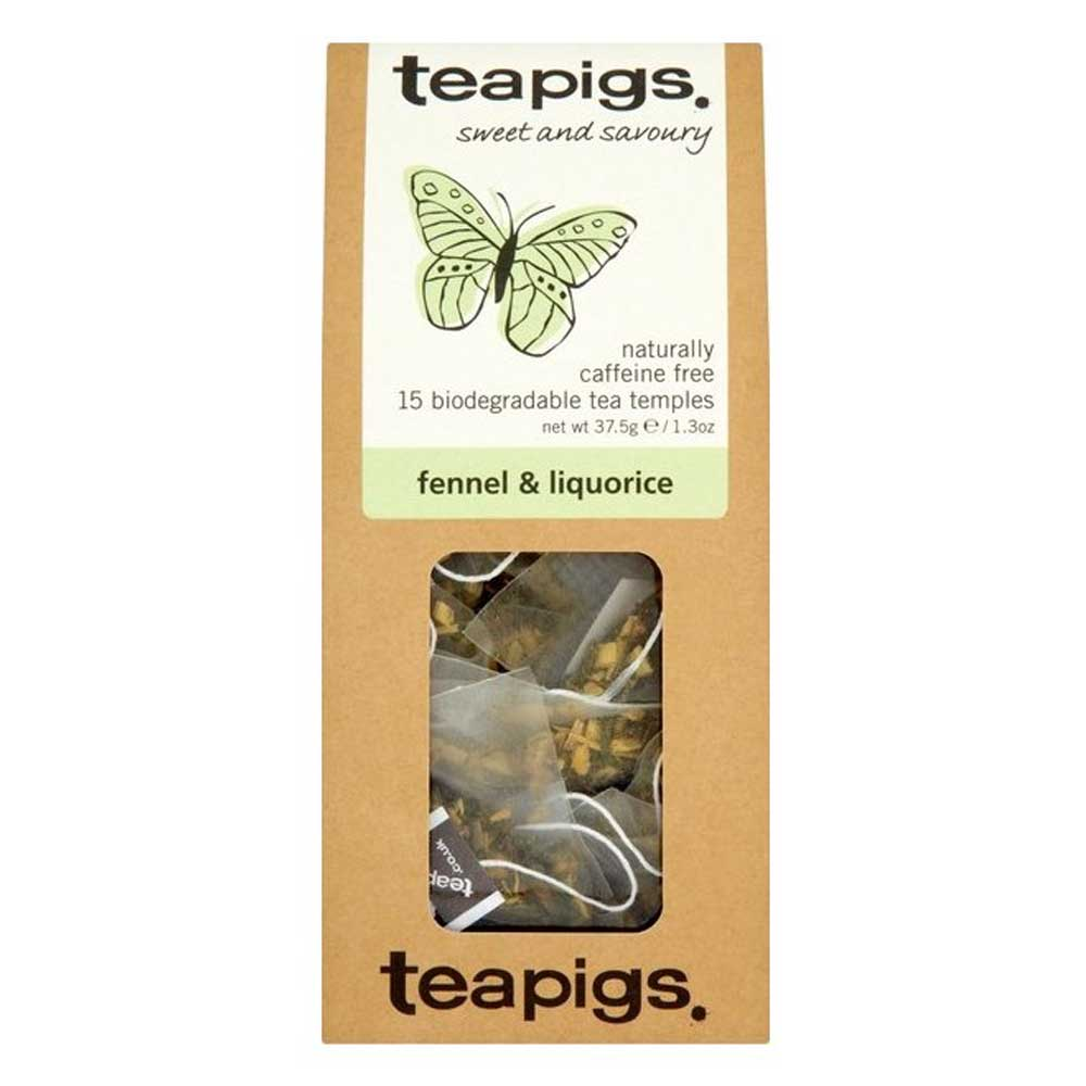 Teapigs, Fennel & liquorice - sweet and savoury (örtte)