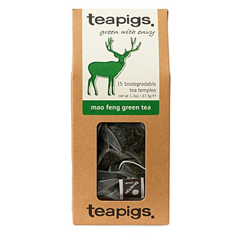 Teapigs, Mao Feng - green with envy (grönt te)