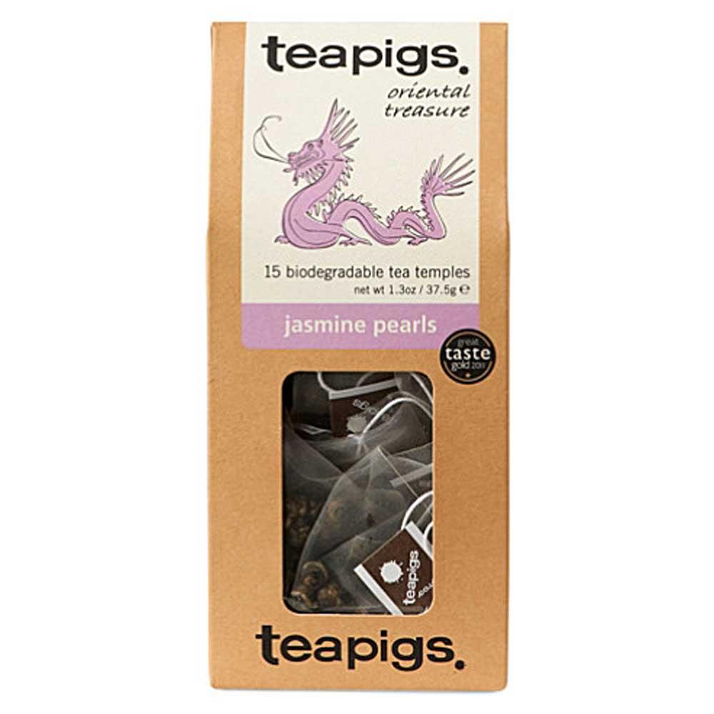 Teapigs, Jasmine pearls - oriental treasure (grönt te)