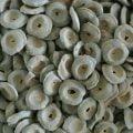 Hårda salmiakknappar från Finland med smak av saltlakrits. Sug eller tugga, en eller flera i taget.
