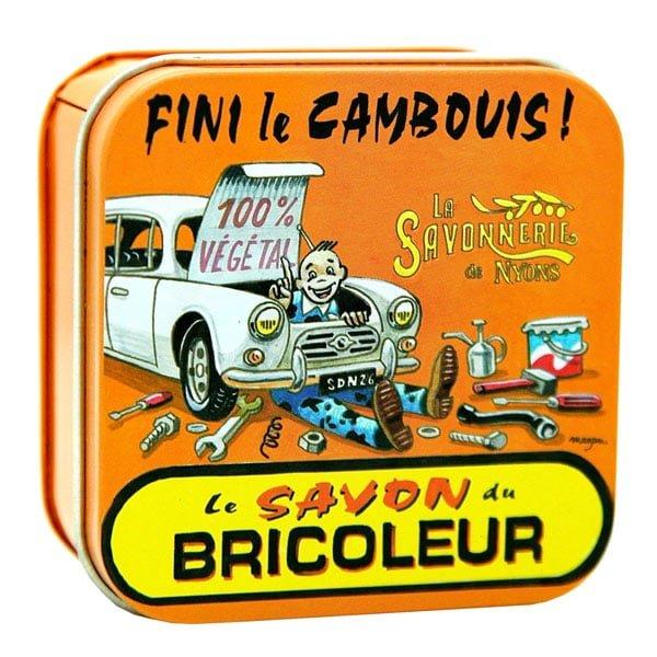 Garagetvål - Fransk tvål i plåtask 100g