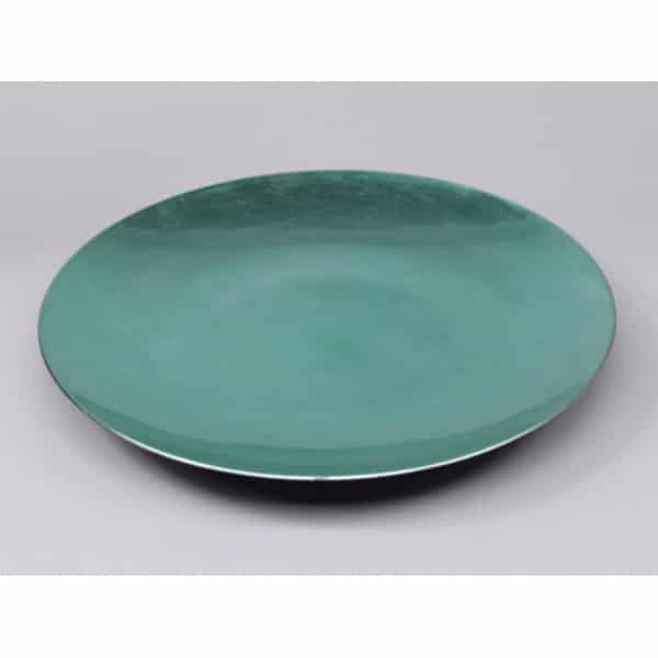 Fat emerald metallic, dia 44 cm
