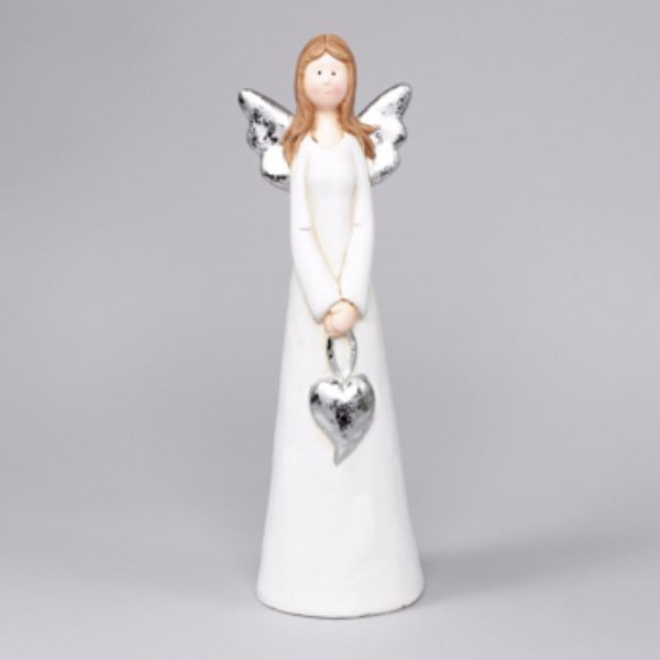 Ängel i terracotta, 37 cm