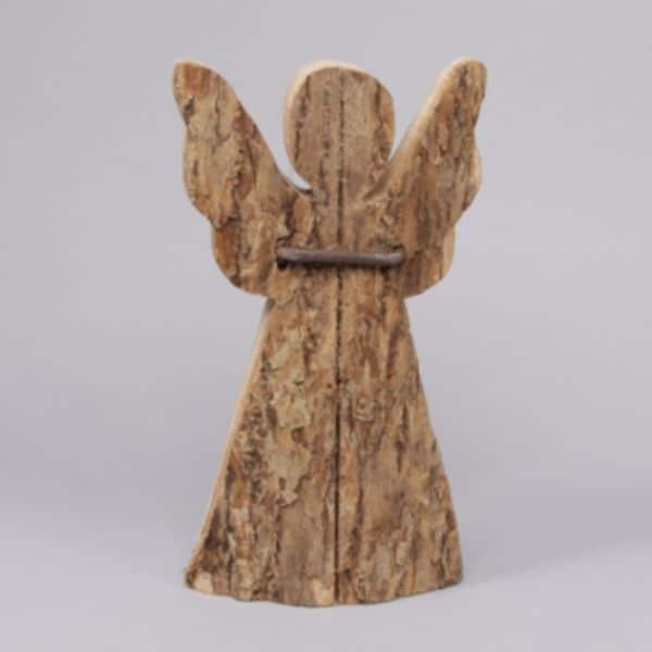 Stående ängel i trä
