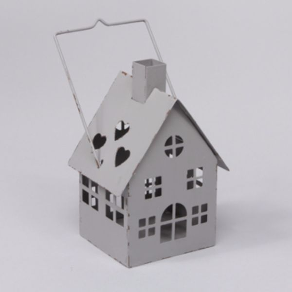 Ljuslykta hus, grå