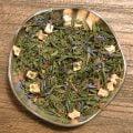 Farmors äppelkaka är ett grönt te som både doftar och smakar precis som nybakad äppelkaka. Mumsfilibabba!