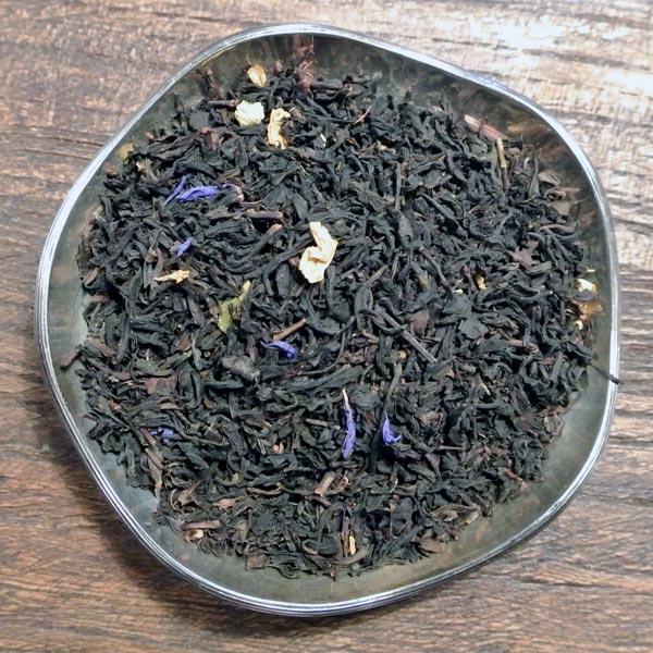 Jasmin, bergamott och vanilj - svart te