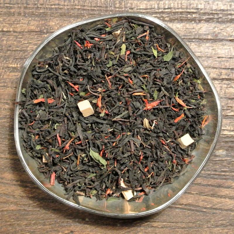 Svart te med smak av Mojito - Hemmingway's favoritdrink. Om du är sugen på en ny spännande smaksättning ska du prova detta te!