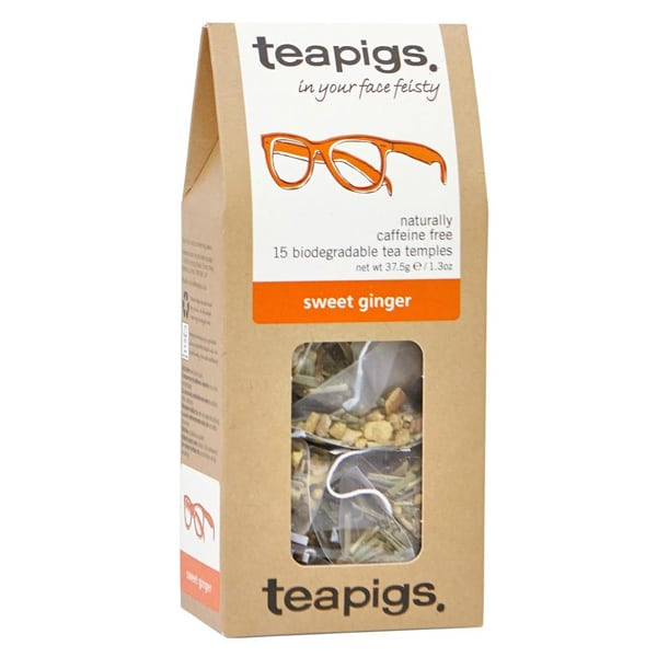 Teapigs, Sweet Ginger - in your face feistly (örtte)