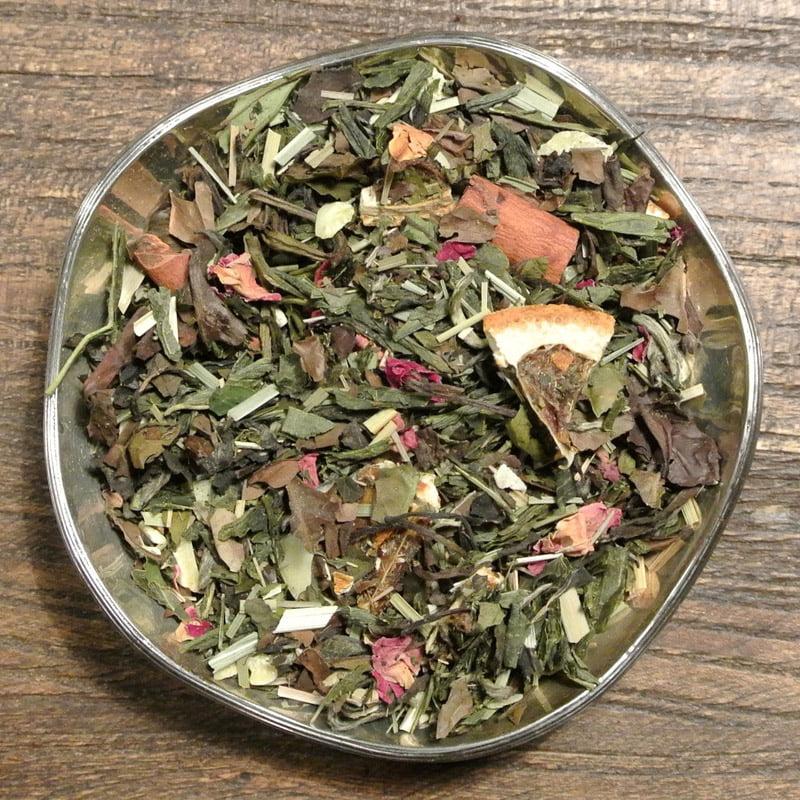 Kanel, mandel och citrus - vitt te