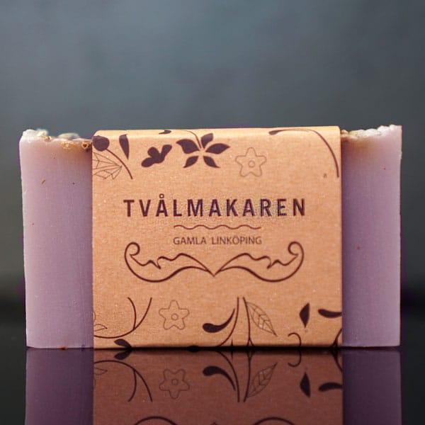 Lavendel - Svensk ekologisk handgjord tvål 100g