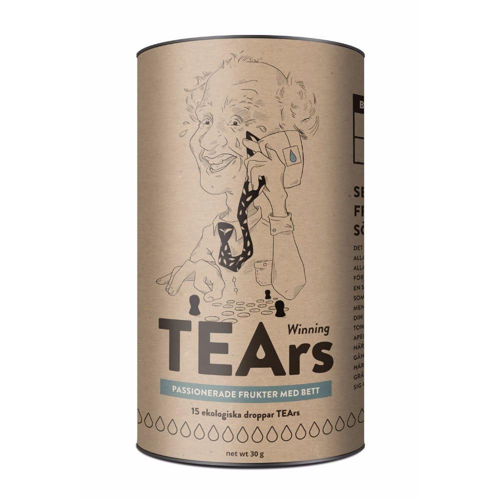 TEArs, Winning tears - Passionerade frukter med bett (svart te)