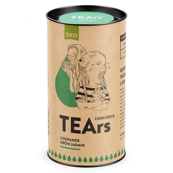 Crocodile tears - Lugnande grön jasmin (grönt te) - TEArs påste