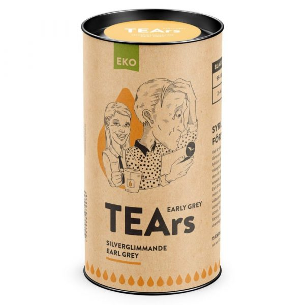 Early grey tears - Silverglimmande Earl grey (svart te) - TEArs påste