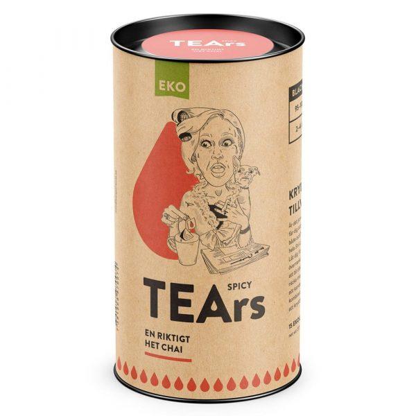Spicy tears - En riktigt het Chai (svart te) - TEArs påste
