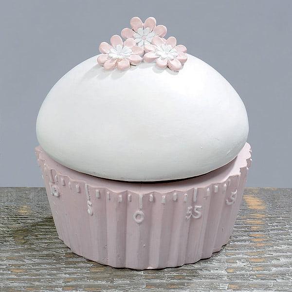 Äggklocka cupcake