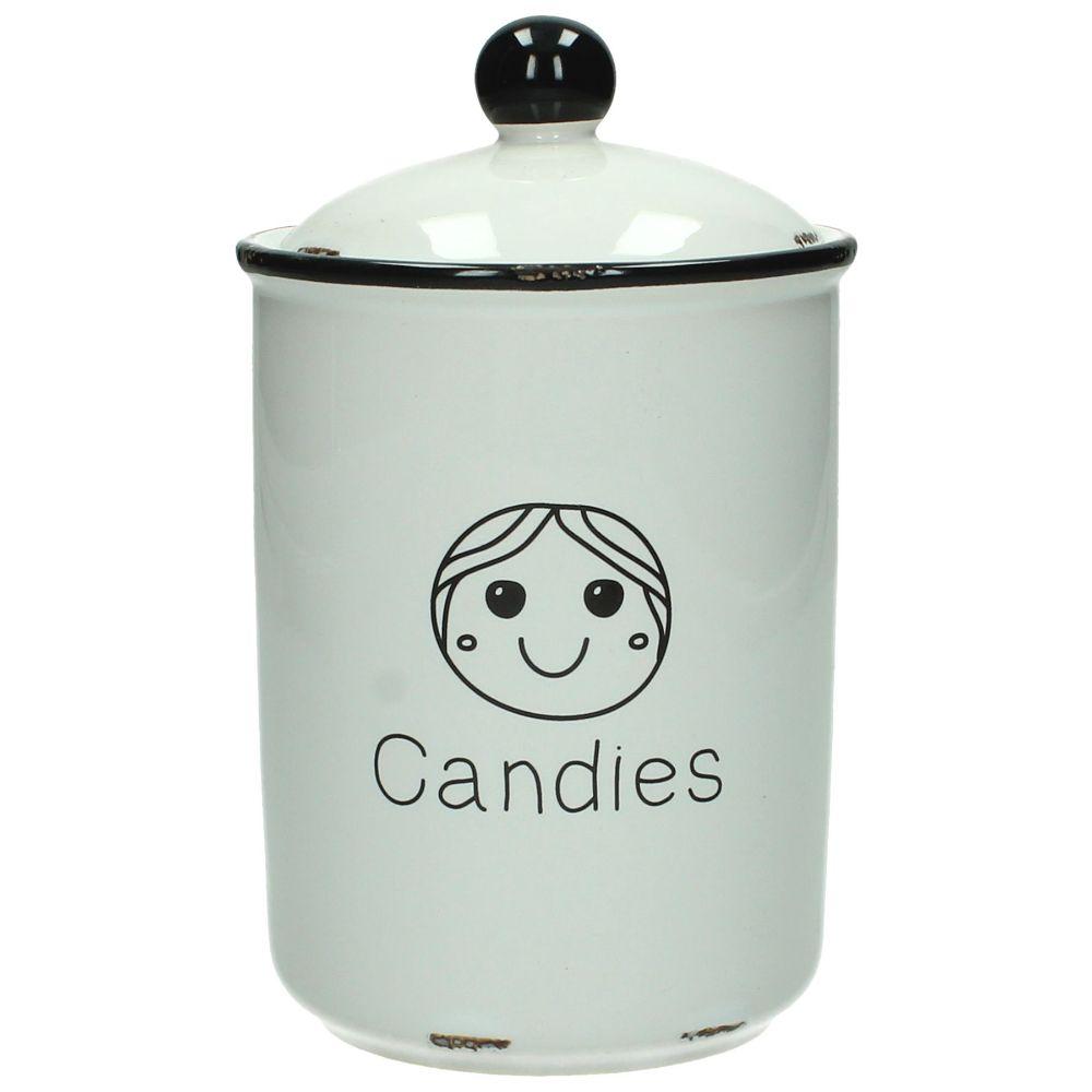 Keramikburk Glad, Candies