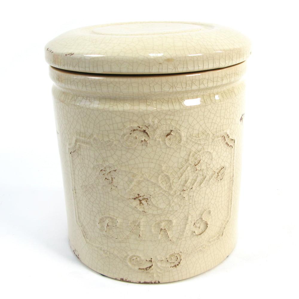 Keramikburk med lock