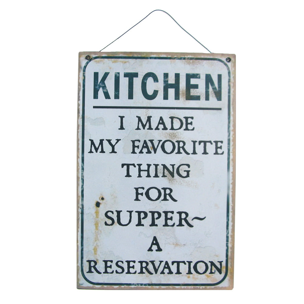 Plåttavla Kitchen