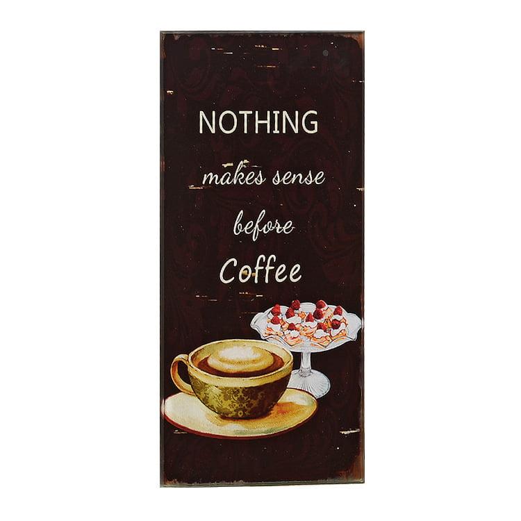 Tavla – Nothing makes sense before coffee