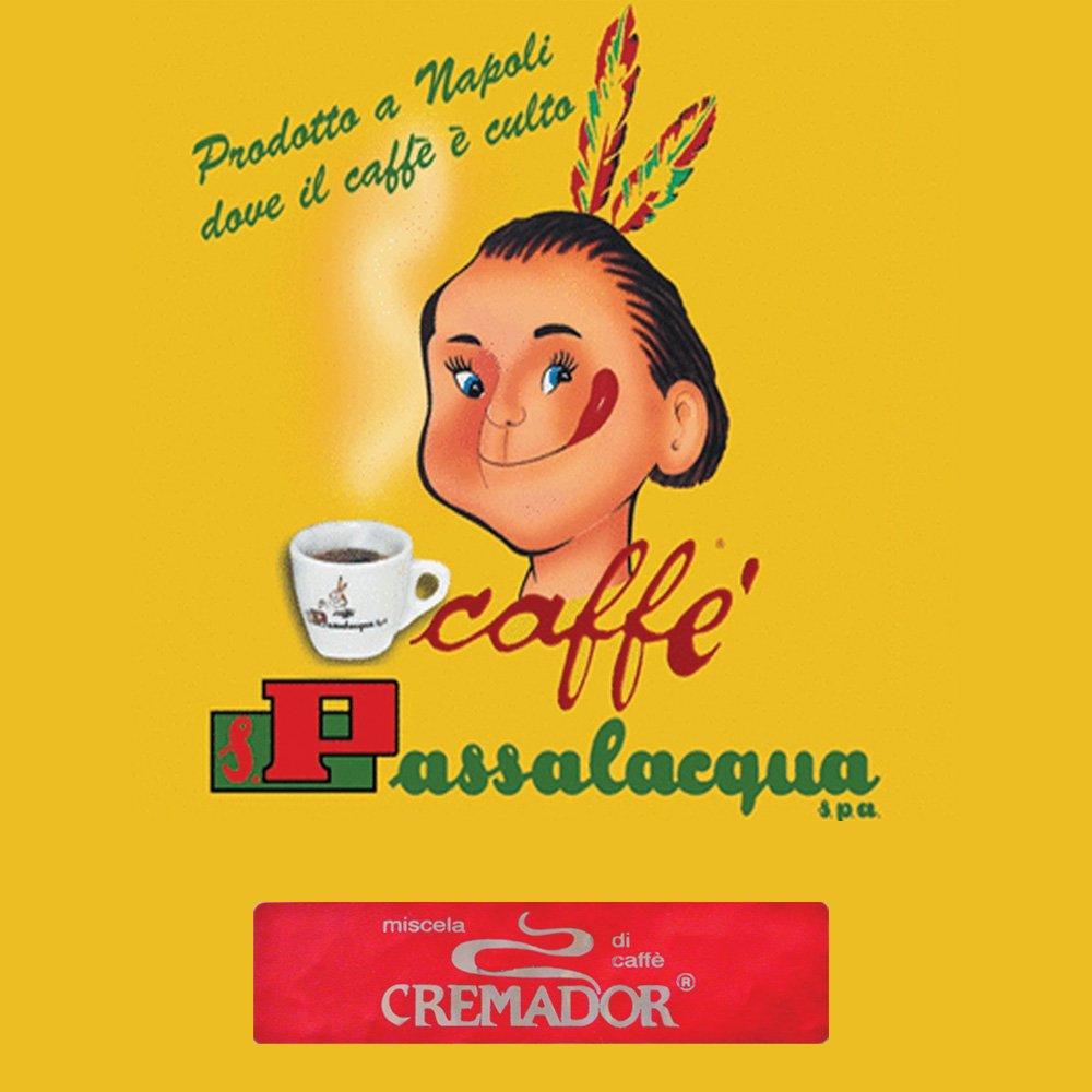 Passalacqua Cremador är italienskt espressokaffe med exceptionell doft och en perfekt balanserad smak med tät och härlig crema.