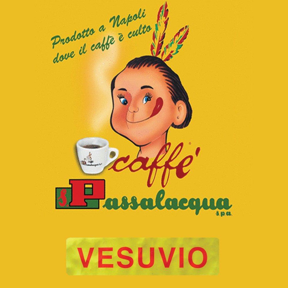 Passalacqua Vesuvio är en mörkrostad espresso med fyllig crema och en balanserad och intensiv arom, precis som riktig napolitansk espresso ska vara.