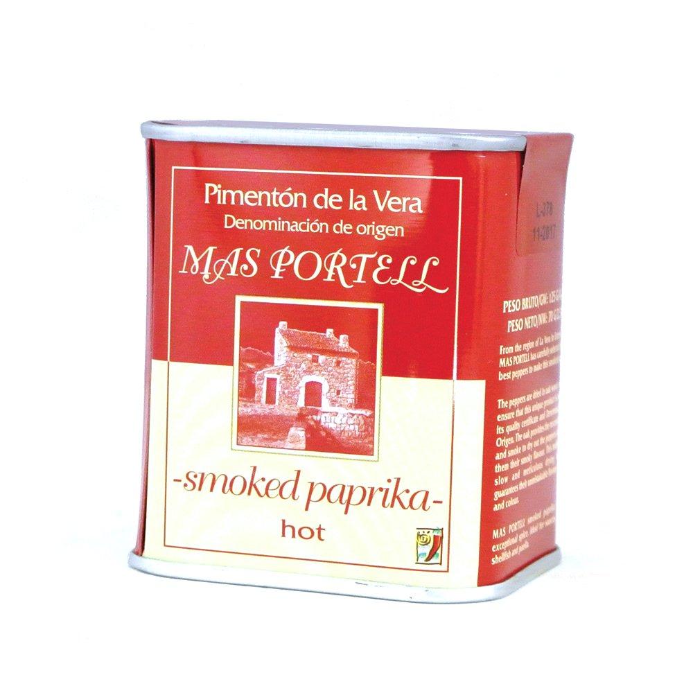 Rökt paprikapulver från Spanien med het och fyllig smak, används t ex i grytor och är ett måste om du gör egen korv.