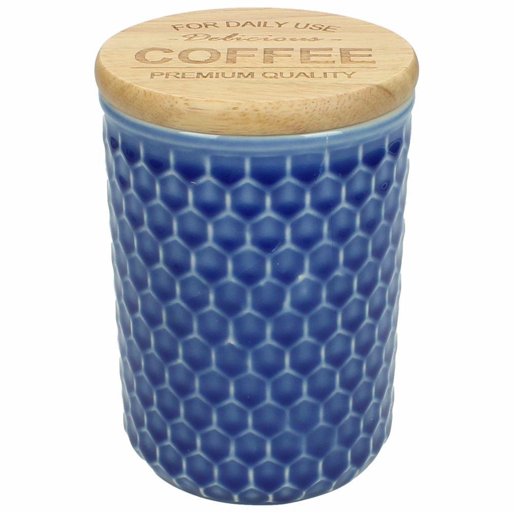 "Burk ""Coffee"" stengods 14,5 cm"