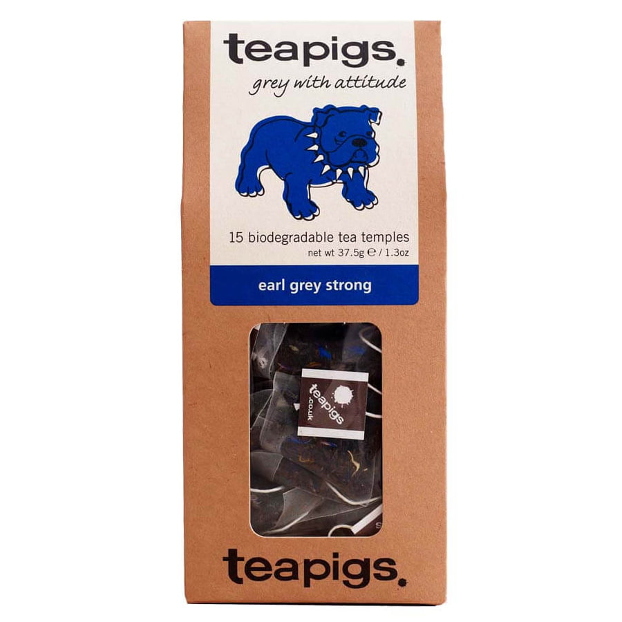 Teapigs, Earl Grey strong - grey with attitude (svart te)