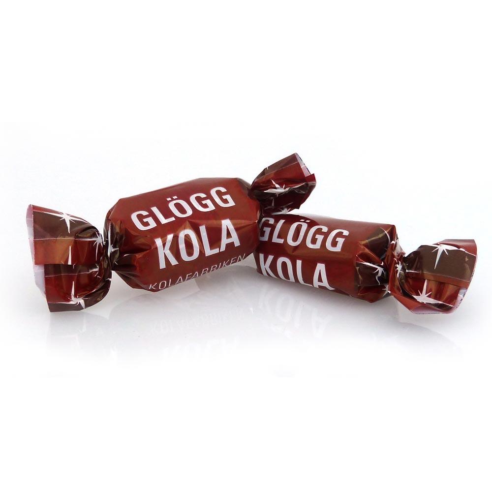 Kola med smak av glögg. Tillverkad i Sverige med noga utvalda ingredienser och med extra mycket omsorg och kärlek.