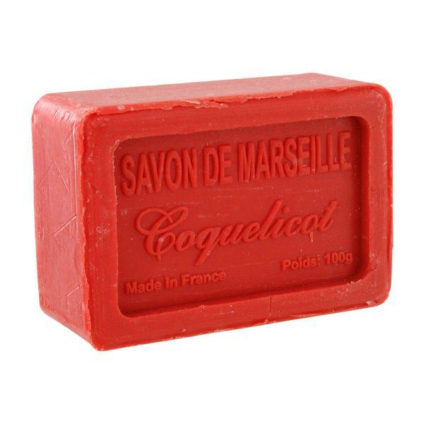 Coquelicót, Savon de Marsielle – Fransk tvål 100g