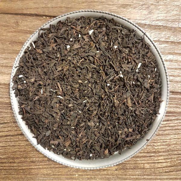 Ett väldoftande ekologiskt svart Ceylon te med en exotisk smak av kokos. Innehåller ekologiska kokosflingor.