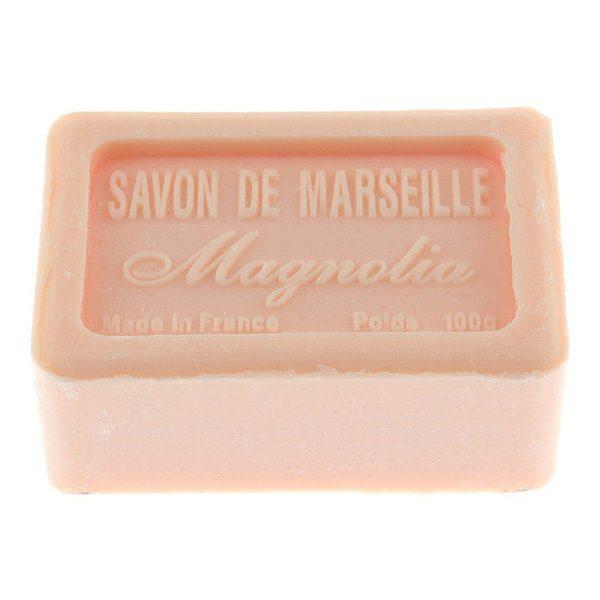 Magnolia, Savon de Marsielle – Fransk tvål 100g