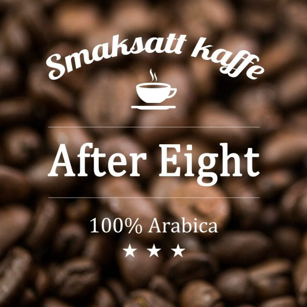 After Eight - smaksatt kaffe