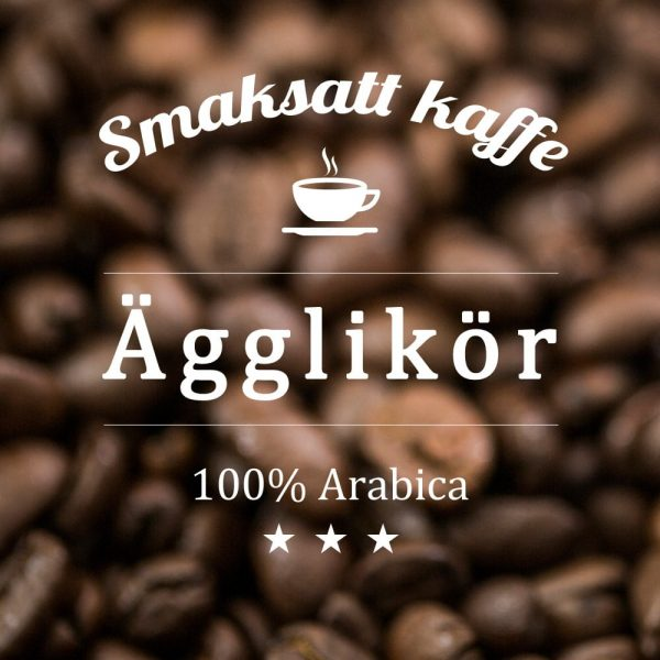Ägglikör - smaksatt kaffe